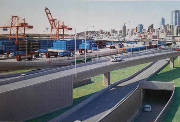 Gibki most w Seattle nie boi się trzęsienia ziemi