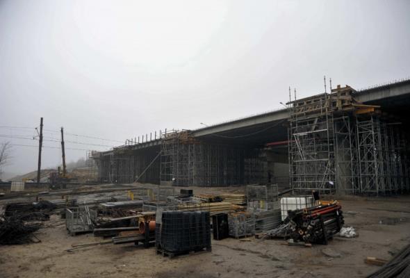 Lubelskie: Rośnie połączenie S17 z mostem na Wiśle w Puławach