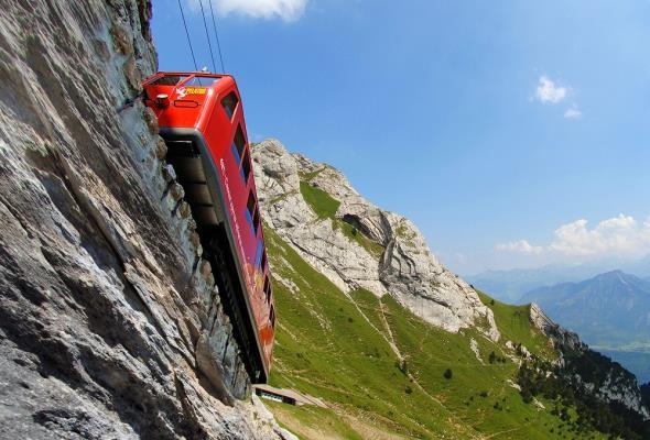 Pilatusbahn – najbardziej stroma kolej na świecie