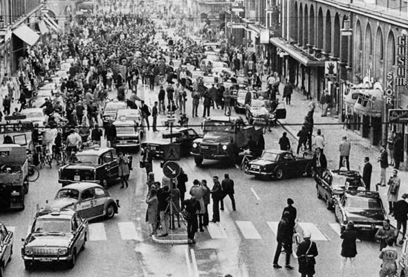 Dagen H, czyli największa zmiana strony ruchu w historii
