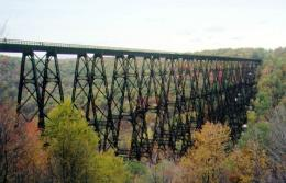 Most Kinzua: kolejowy cud świata, który stał się punktem widokowym