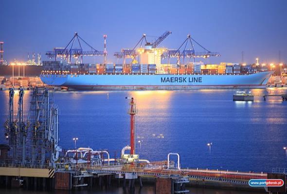 Port Gdańsk: 37,3 mln ton przeładowanych towarów w 2016 roku