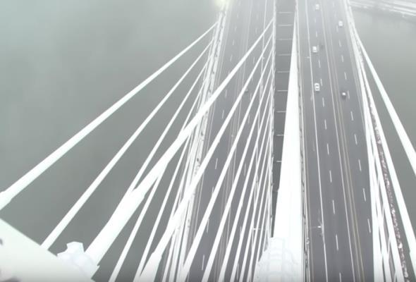 Port Mann Bridge – kanadyjski most z osobistą ekipą odśnieżającą
