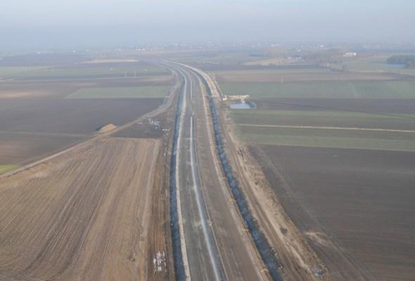 Obwodnica Inowrocławia: Budowa trasy głównej zaawansowana w 70%