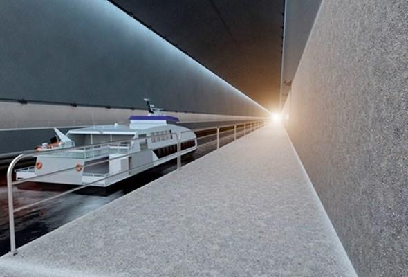 Pod fiordami powstanie pierwszy na świecie tunel dla statków morskich
