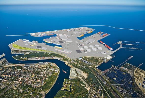 Port Centralny ze wsparciem Premier Beaty Szydło