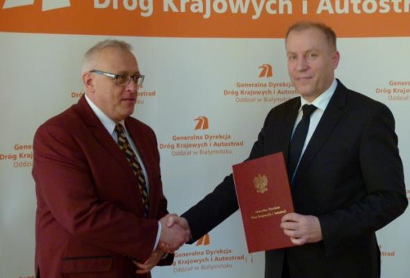 Wojciech Borzuchowski nowym dyrektorem GDDKiA Białystok