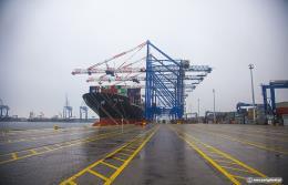 Największy na świecie kontenerowy serwis żeglugowy w DCT Gdańsk