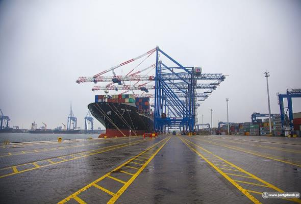 Łukasz Greinke: Port Gdańsk korzysta z każdej inwestycji infrastrukturalnej w kraju