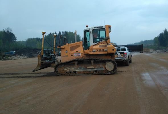 Już widać postęp robót na śląskich odcinkach autostrady A1