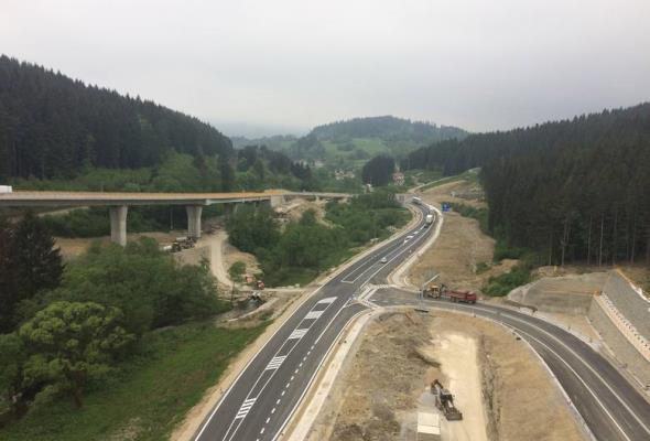 Słowacy otworzyli autostradę do granicy. Urosną problemy Węgierskiej Górki