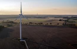 Zachodniopomorskie: Farma wiatrowa w Karwicach uruchomiona