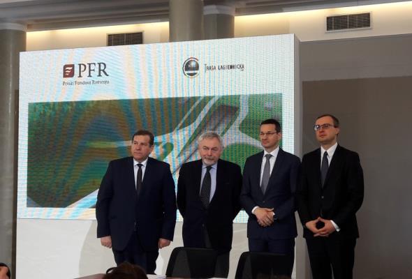 Polski Fundusz Rozwoju sfinansuje Trasę Łagiewnicką