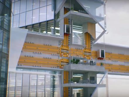 W  Berlinie powstanie pierwsza na świecie winda, która pojedzie w każdą stronę
