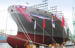 Największy kontenerowiec świata zawija dziś do DCT Gdańsk