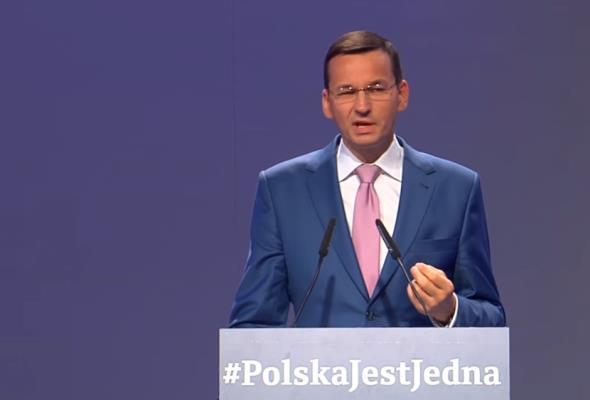 Morawiecki zapowiada inwestycje: Wybudujemy CPK, Via Carpatia i ważne mosty