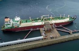 Terminal LNG w Świnoujściu przyjął 18 dostaw