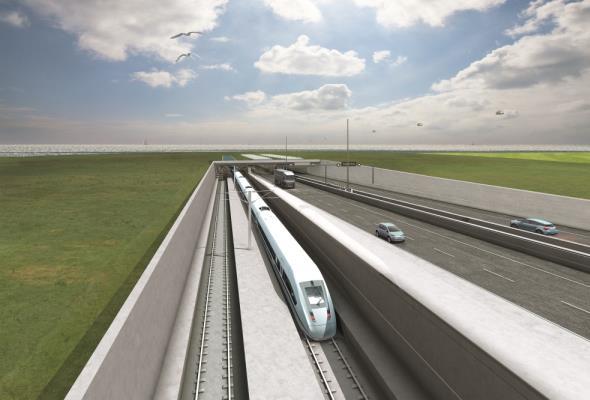 """Niemcy dają """"zielone światło"""" dla budowy tunelu pod cieśniną Fehmarn"""
