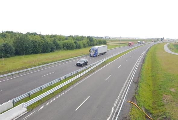 Pierwsi kierowcy ruszyli obwodnicą Inowrocławia