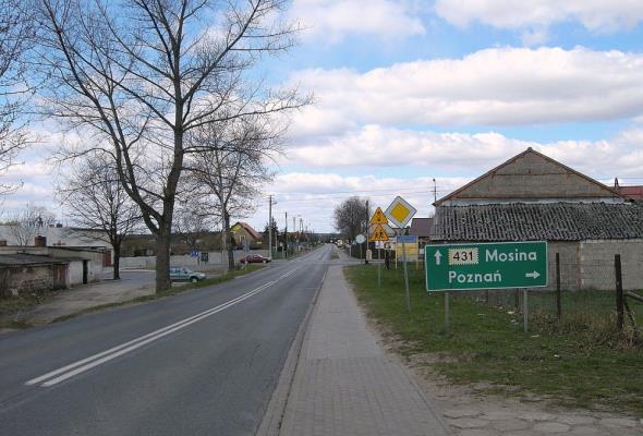 Rozbudują drogę wojewódzką 431 pod Poznaniem