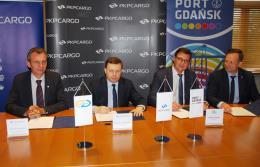 PKP Cargo i Port Gdańsk na kolejnym etapie realizacji idei Trójmorza