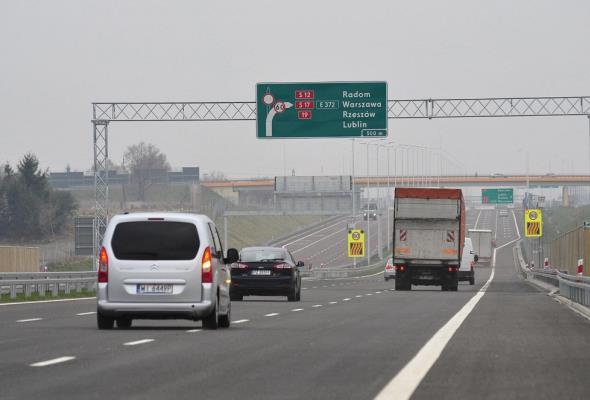 Jest pozwolenie na budowę S17 od Kołbieli do Garwolina