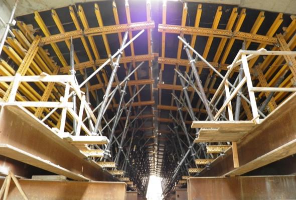 Rekordowy obiekt mostowy na obwodnicy Wałcza