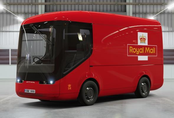 Brytyjska poczta stawia na elektromobilność