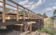 Małopolska: Mostem tymczasowym przez DK-28