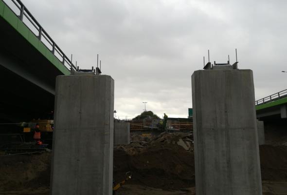 Trwa przebudowa ulic Marsa i Żołnierskiej