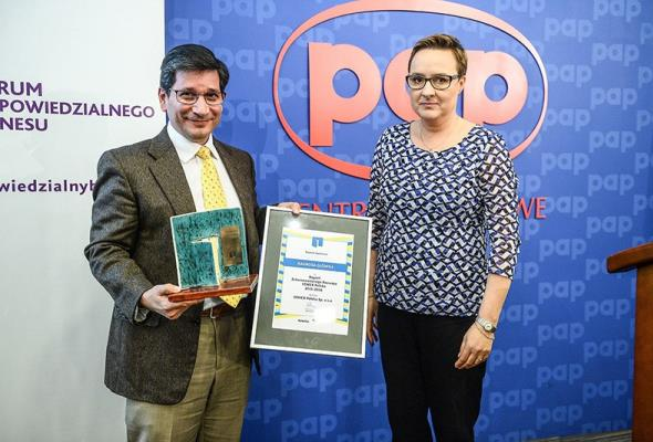 Konkurs Raporty Społeczne: Nagroda główna dla CEMEX Polska