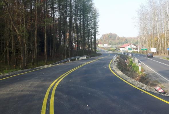 Małopolska: Objazdem omijamy DK-52 koło Kalwarii Zebrzydowskiej