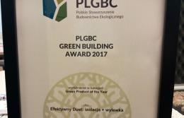 Nagroda Green Building Award dla produktów CEMEX