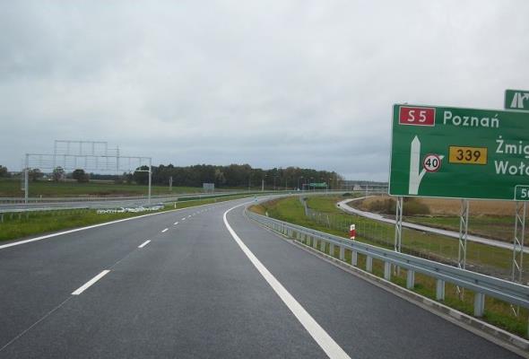 Kierowcy pojadą pierwszym odcinkiem S5 na Dolnym Śląsku