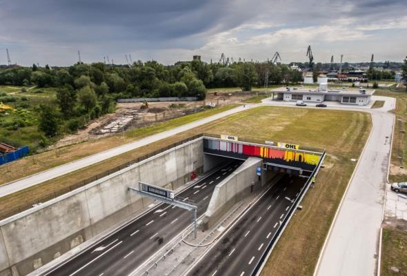 Nagroda Cemex Building Award 2017 dla Tunelu pod Martwą Wisłą
