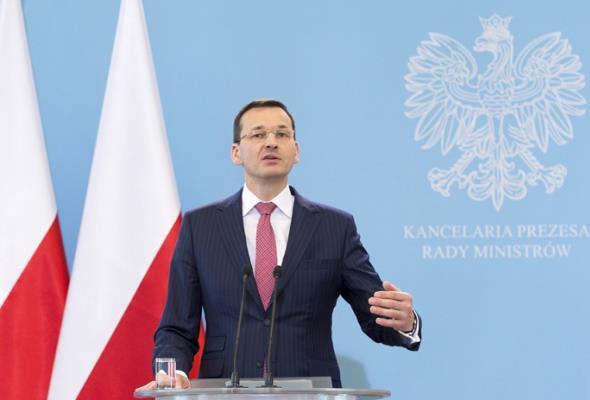 Morawiecki: Przesuwamy blisko 1 mld zł z budżetu na przekop Mierzei Wiślanej