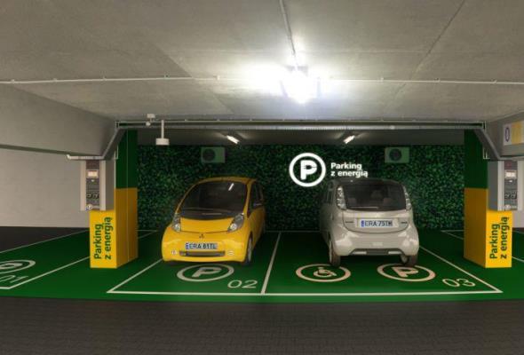 Warszawa: Na Młocinach uruchomiono nową stację ładownia aut