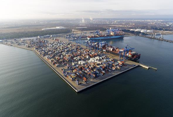 Port Gdańsk wśród 100 najlepszych portów kontenerowych świata