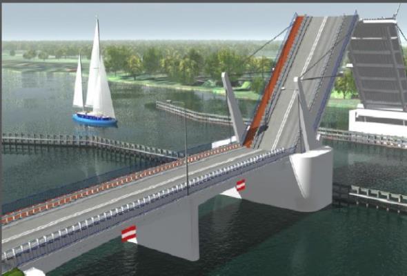 Most na Wyspę Sobieszewską będzie później