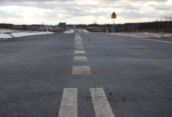 Podkarpackie: Kierowcy pojechali obwodnicą Sokołowa Małopolskiego
