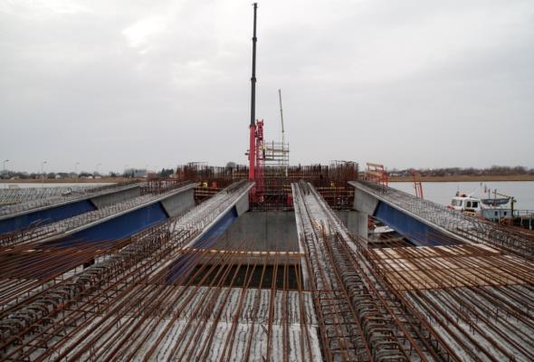Most w Sobieszewie: Pozostali partnerzy konsorcjum dokończą pracę