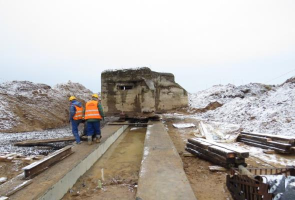 Kujawsko-pomorskie: Przenosiny bunkra z trasy budowy S5