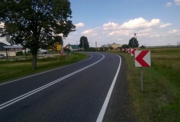 Kierowcy pojechali drogą łączącą Mazowsze z Lubelszczyzną