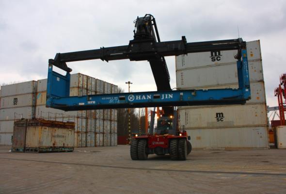 Place manewrowe w Centrum Logistycznym Portu Gdynia
