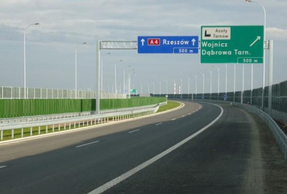 Małopolska: Będzie nowe połączenie z A4 w Tarnowie