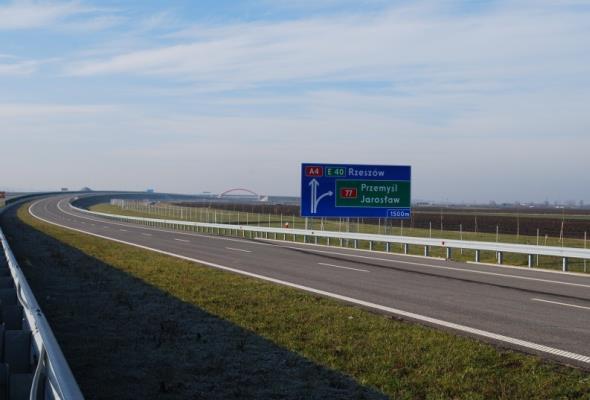 Oferty na węzeł na A4 Kraków – Tarnów znacznie powyżej budżetu