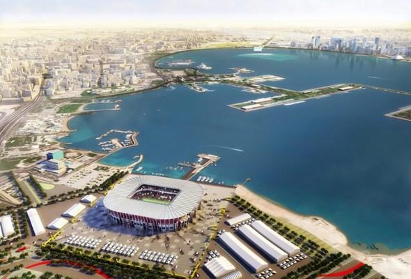 W Katarze na  MŚ 2022 ma powstać przenośny stadion z kontenerów