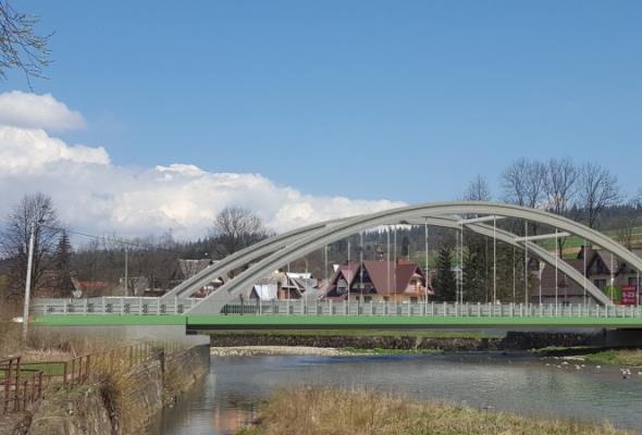 Oficjalnie ruszyły roboty przy moście w Białym Dunajcu