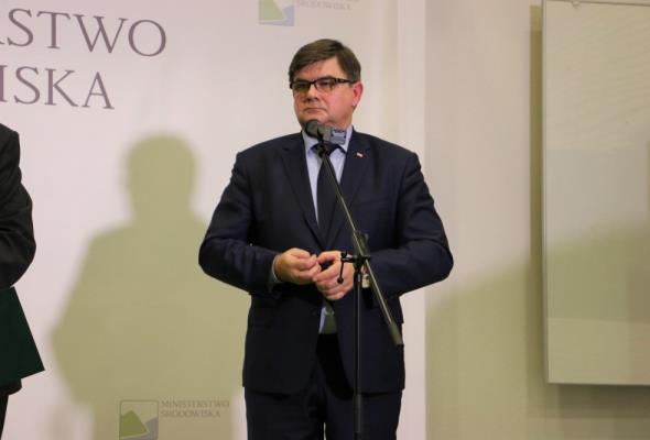 Jerzy Materna odwołany z funkcji sekretarza stanu w MGMiŻŚ