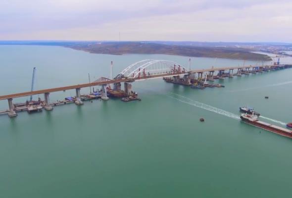 Most Rosja - Krym będzie gotowy przed terminem